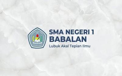 INFORMASI DAFTAR ULANG SMAN 1 BABALAN 2019